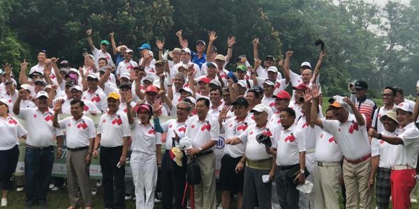 Bantu Korban Bencana Palu, HIPPI Gelar Charity Tournament Golf