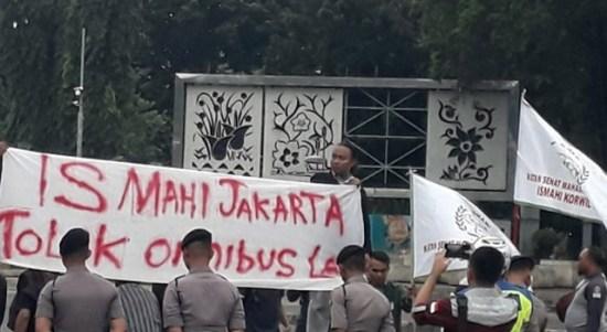 Ismahi Jakarta: Dijadikan Budak di Negeri Sendiri, Tolak Omnibus Law
