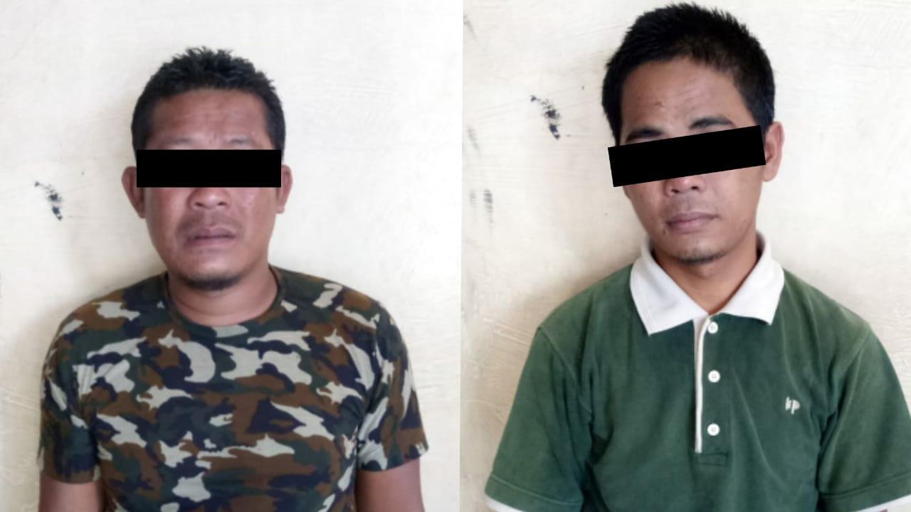 Maling Motor, Dua Warga Penengahan Dibekuk Tim Tekab 308 Polres Lampung Selatan