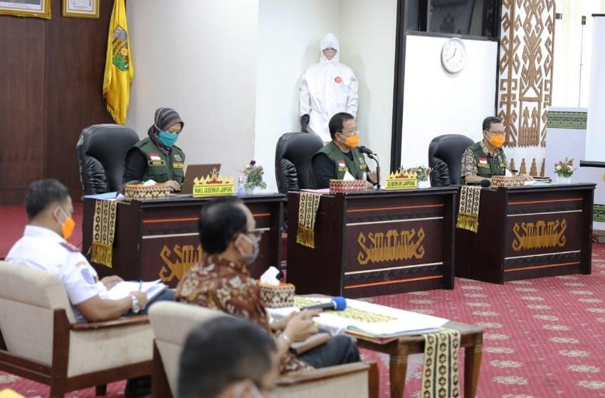 Kumpulkan Stakeholder Pariwisata, Gubernur Arinal Ajak Berembuk Tangani Covid-19