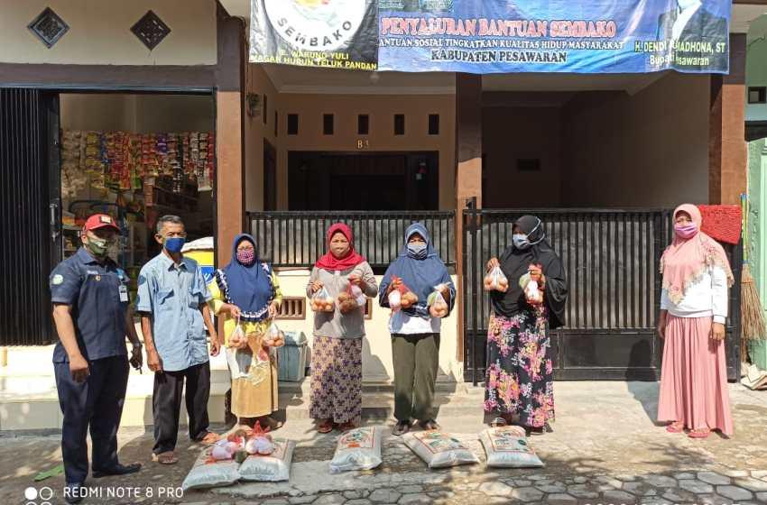 Penyaluran BPNT Dikecamatan Teluk Pandan Kabupaten Pesawaran Terlaksana Dengan Tertib