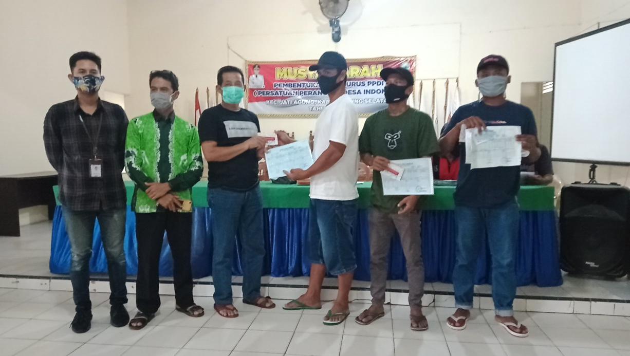 97 Buku Rekening BPNT Kembali Di Salurkan Pemerintah Desa Jatimulyo