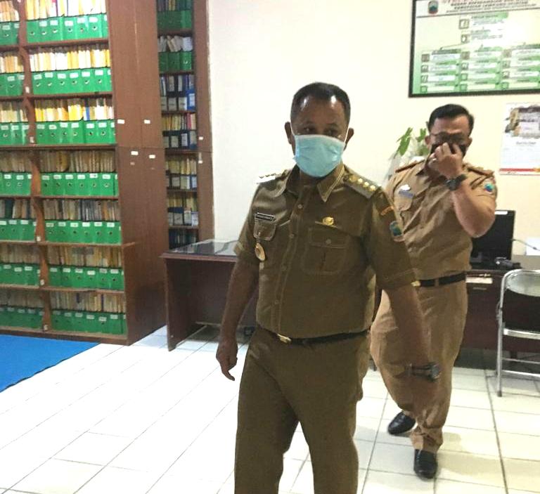 Bupati Lampung Selatan,inspeksi Mendadak (sidak) ke Sejumlah Organisasi Perangkat Daerah