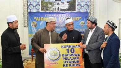 Photo of MAIPs tawar biasiswa kepada 10 pelajar Uyghur