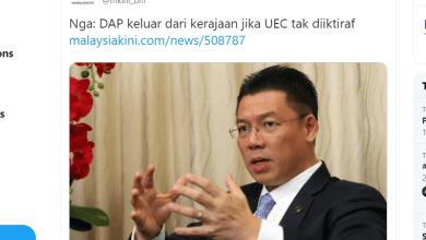 Photo of DAP tinggalkan PH: Kor Ming dakwa laporan Malaysiakini tidak tepat