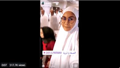 Photo of Gara-gara pakai telekung di Mekah, 'Sajat' trending di Twitter