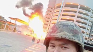 Photo of Anggota tentera mengamuk akhirnya ditembak mati