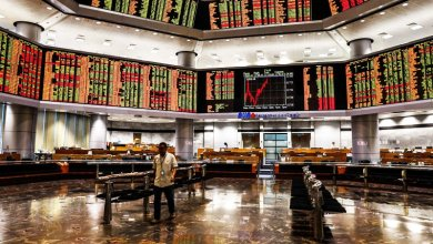 Photo of Bursa tinggi pada penutup sesi pagi