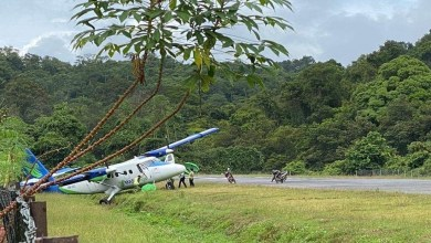 Photo of Pesawat MASwings tergelincir di Lapangan Terbang Long Seridan