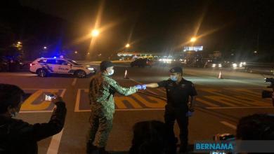 Photo of PKPP: Sekatan jalan raya dihentikan mulai tengah malam tadi