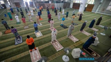 Photo of Jumlah jemaah ditentukan jawatankuasa masjid, surau
