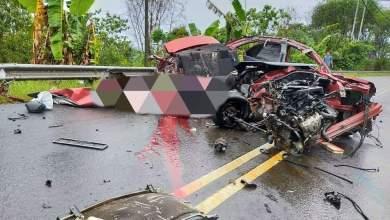 Photo of Kemalangan 3 kenderaan, 6 maut