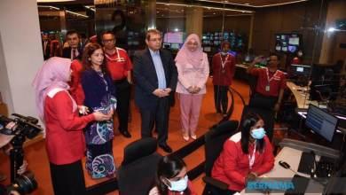 Photo of Saifuddin lawat RTM Kuala Lumpur
