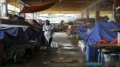 Photo of Disinfeksi COVID-19: DBKL tutup pasar berbangunan