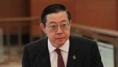 Photo of Guan Eng tiba di pejabat SPRM