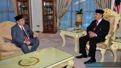 Photo of Yang Dipertua Melaka terima kunjungan hormat Menteri Komunikasi dan Multimedia