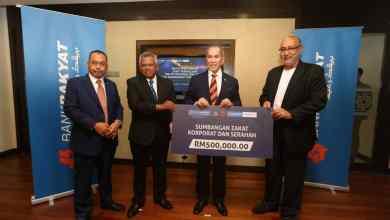 Photo of Dua anak syarikat Bank Rakyat tunai zakat perniagaan