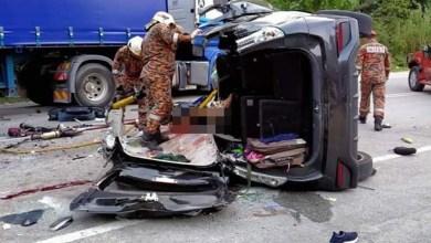 Photo of Tujuh maut kemalangan di Simpang Pulai, Perak