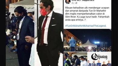 Photo of Gambar KJ: Netizen tempelak FB penyokong Tun Mahathir