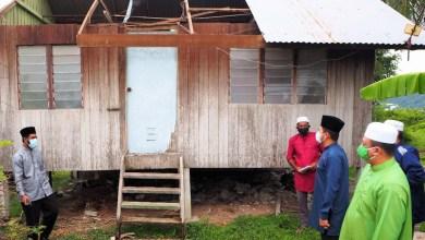 Photo of Raja Muda Perlis ziarah mangsa ribut di Kampung Gonchar