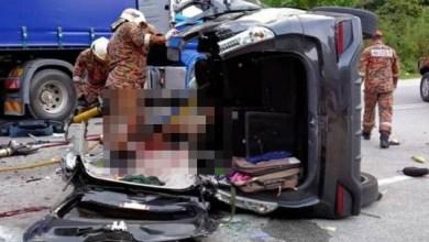 Photo of Kemalangan maut di Simpang Pulai: Pengendali lori treler diberi surat tunjuk sebab