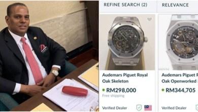 Photo of Jam tangan menteri hampir RM300k, nasihat rakyat perlu bersyukur walaupun gaji kecil