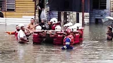 Photo of Banjir kilat melanda Kuala Lumpur, air naik setinggi 3 meter