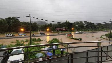 Photo of Berapa kawasan di Kota Kinabalu dilanda banjir kilat