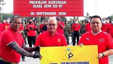 Photo of YTSP beri sumbangan sempena ulang tahun ATM