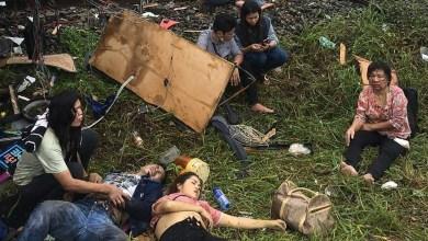 Photo of Sekurang-kurangnya 17 maut bas bertembung dengan kereta api di Thailand