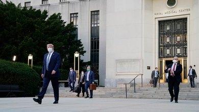 Photo of Trump keluar Hospital Walter Reed selepas tiga hari dirawat