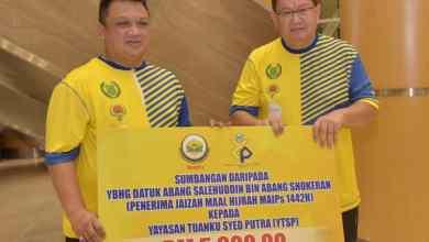 Photo of Raja Muda Perlis sertai Kayuhan Jelajah Bahasa Jiwa Bangsa