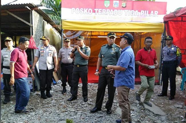 Tiga Pilar Jakarta Barat Kunjungi Korban Kebakaran di Grogol