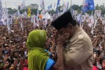 Kampanye di NTB, Prabowo Berkomitmen Bentuk Pemerintahan Anti Korupsi