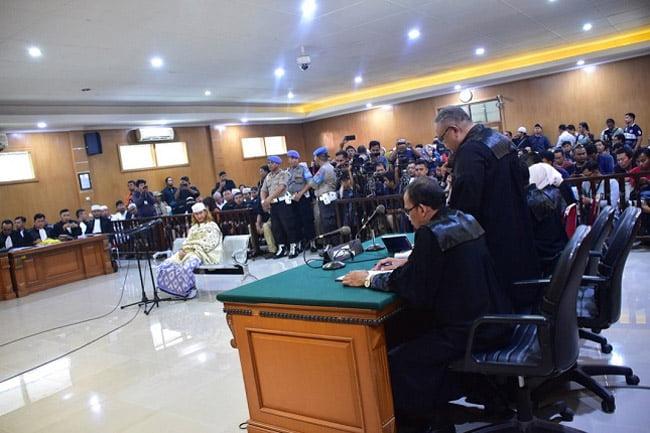 PN Bandung Gelar Sidang Perdana Habib Bahar Bin Smith