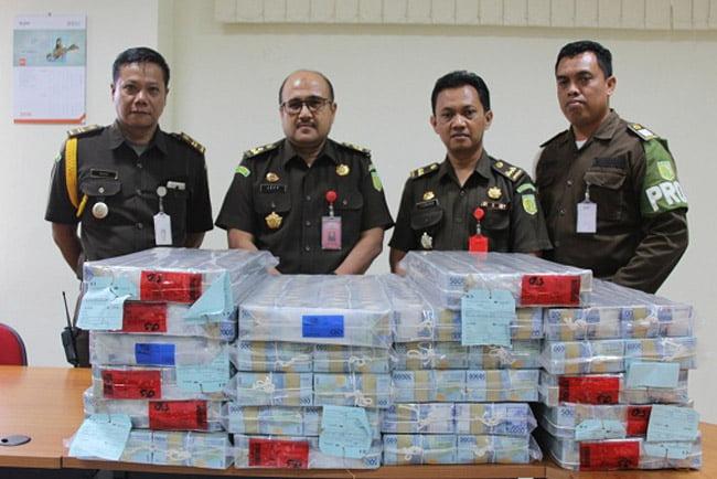 Kejati DI Yogyakarta Sita 16 Miliar Dari Koruptor Pemberi Fasilitas Kredit