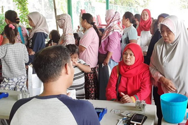PJLP Jakarta Islamic Centre Nikmati Pangan Bersubsidi