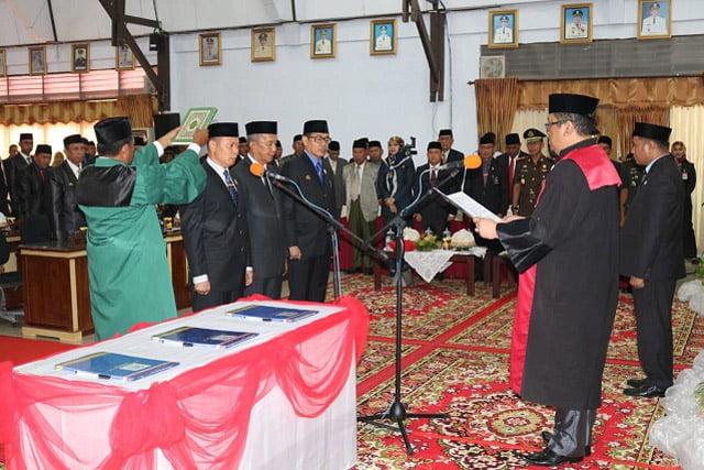 Pimpinan DPRD Kabupaten Wajo Diminta Pegang Teguh Kearifan Lokal