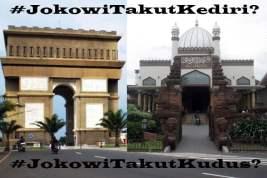 Klenik Istana; Apes Jokowi di Kediri. Opini Dimas Huda