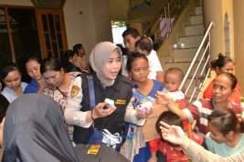 Polda Metro Jaya Turunkan Tim Psikologi Untuk Korban Banjir