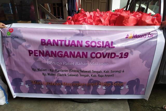 SKK Migas MontD'Or Oil Salawati Bantu Masyarakat di Tiga Kampung Pulau Salawati