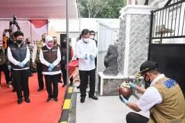 Khofifah Resmikan RS Lapangan Covid-19 Pemprov Jatim