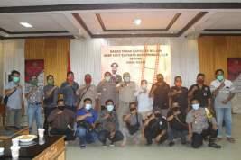Ramah Tamah Kapolres Melawi Dengan Awak Media Se-Kabupaten