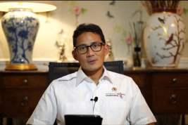 Sandiaga Uno Buka Pameran Virtual Kaligrafi Kontemporer Tingkat Nasional