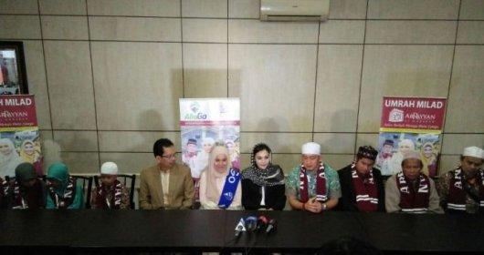 Rossa Umrah Bersama Tiga Hafidz Al Quran Tunanetra