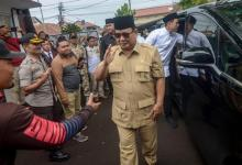 Mentri Pertahanan Prabowo Subianto