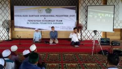 Photo of Iwan Kurniawan Sosialisasi Bantuan Operasional Pesantren di Palangkaraya