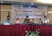 Photo of Jaga Warisan dan Identitas Bangsa, Dinas Kebudayaan Gelar Sosialisasi Cagar Budaya