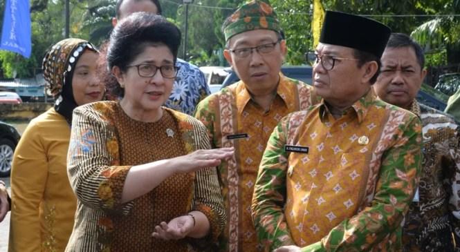 Wagub Dampingi Menkes Tinjau Klinik Tuberculosis Rs Raden Mattaher
