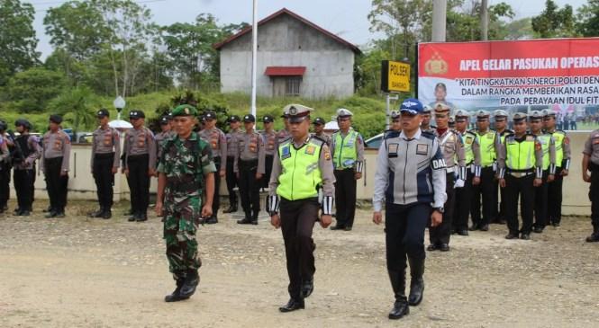 Amankan Lebaran, Polres Merangin Gelar Operasi Ketupat 2018